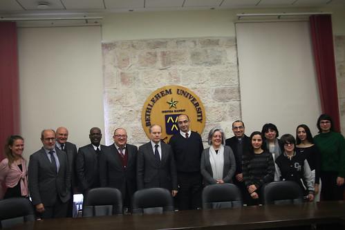 Consul General of France M. René Troccaz Visit