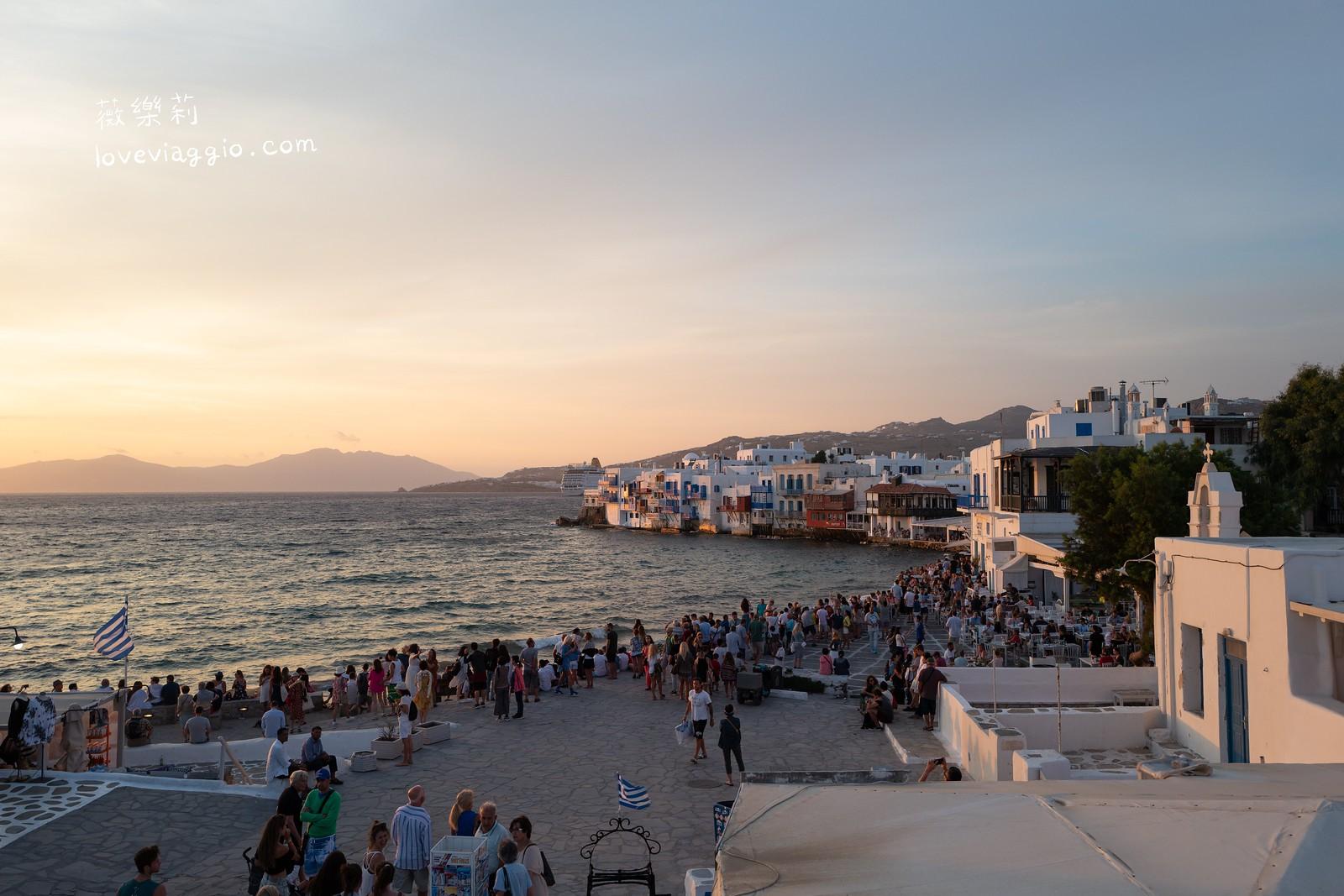 【米克諾斯 Mykonos】夕陽最美地點 小威尼斯與卡托米利風車 @薇樂莉 Love Viaggio   旅行.生活.攝影