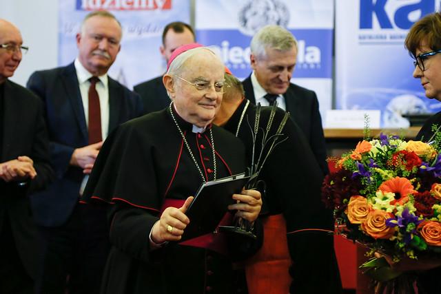 Wręczenie nagrody im. bp. Andrzejewskiego - Warszawa, 20 II 2020 r.