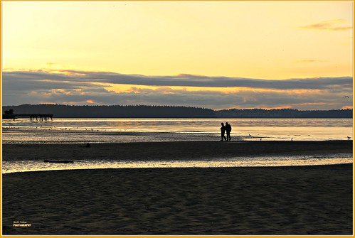 sunset beach clouds dashpointstatepark pugetsound dashpoint washington canon nature picmonkey