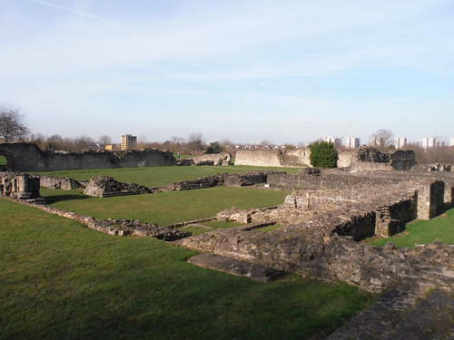 Lesnes Abbey Ruins SWC Short Walk 43 - Lesnes Abbey Woods with Bostall Woods (Abbey Wood Circular)