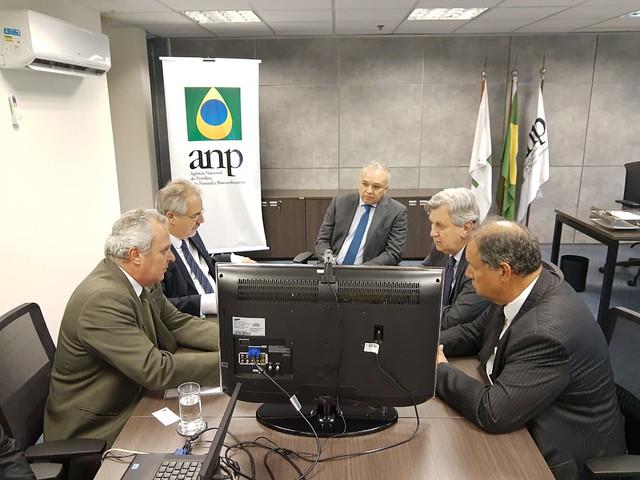 19/02/2020 Audiência Prefeitura de Osório na Agência Nacional do Petróleo (ANP)