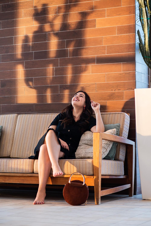 marie-chloé falardeau robe noire cactus