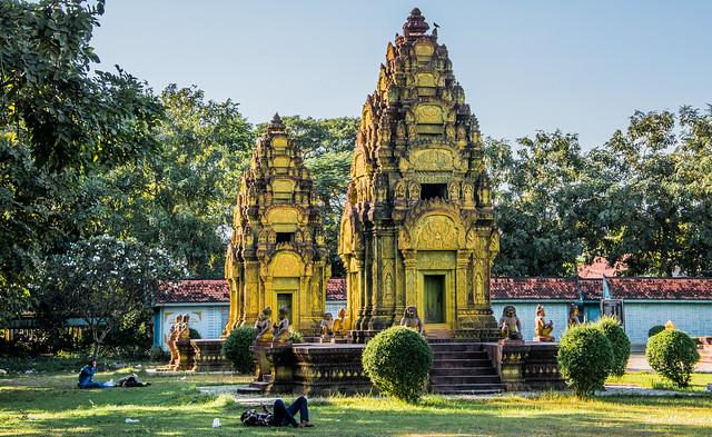 2019 - Cambodia - Siem Reap - Cambodian-Vietnamese War Memorial