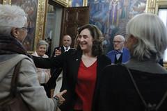 dt., 18/02/2020 - 18:08 - Barcelona18.02.2020 Medalla d'or Mèrit Esportiu a Kallipolis.   Foto: Laura Guerrero/Ajuntament de Bcn.