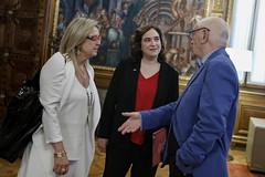 dt., 18/02/2020 - 18:07 - Barcelona18.02.2020 Medalla d'or Mèrit Esportiu a Kallipolis.   Foto: Laura Guerrero/Ajuntament de Bcn.