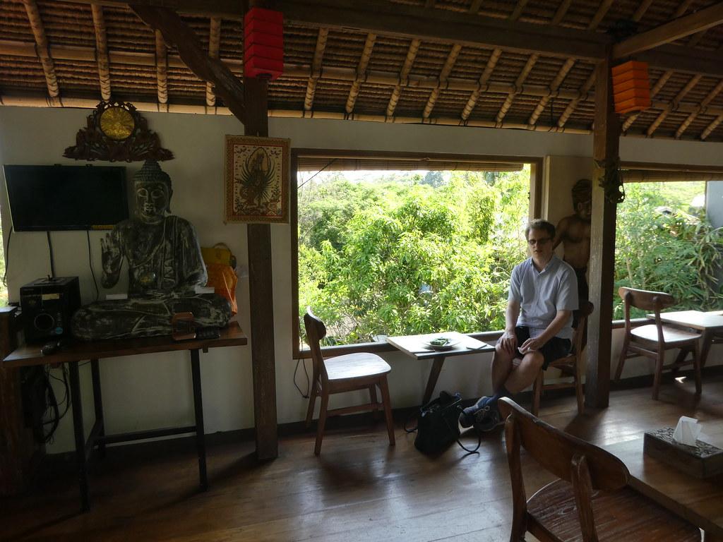 Cafe near Elephant Cave Ubud Bali