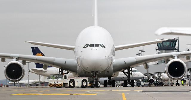 ex Air France Airbus A380-861