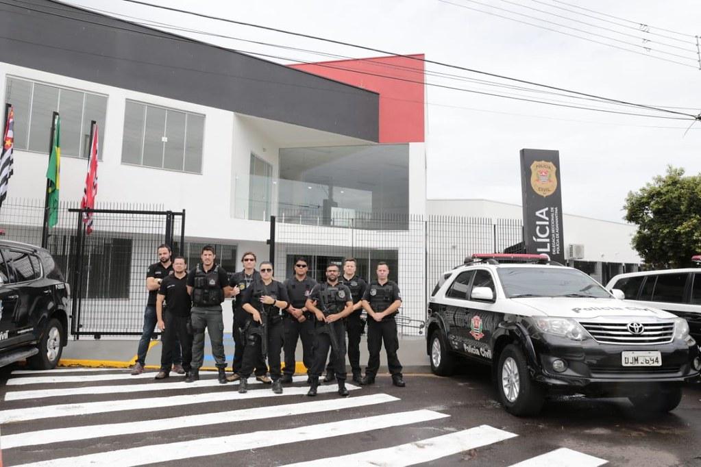 Inauguração da Delegacia de Polícia Seccional