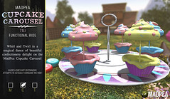 MadPea Cupcake Carousel @Belle!