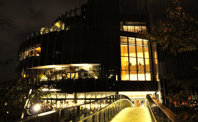 Leaving Tokyo Midtown