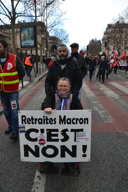 Manifestation du 20 février 2020 contre la