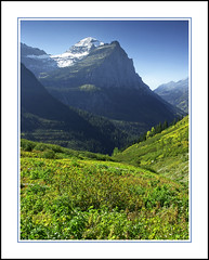 Mount Cannon in Montana's Glacier National Park