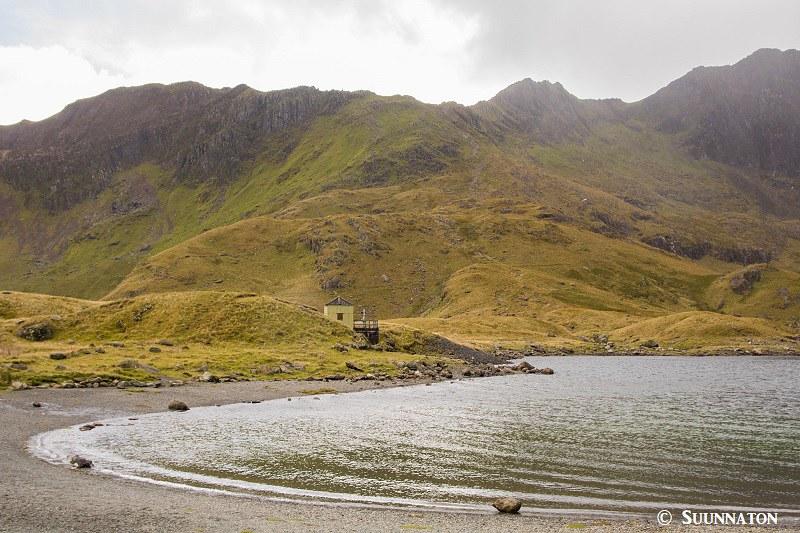 Snowdonian kansallispuisto, Miners Track, hiekkaranta