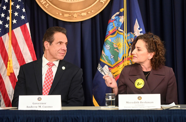 GOVERNOR CUOMO LAUNCHES CAMPAIGN TO BAN FLAVORED NICOTINE VAPING PRODUCTS AND RESTRICT VAPING ADS AIMED AT YOUTH