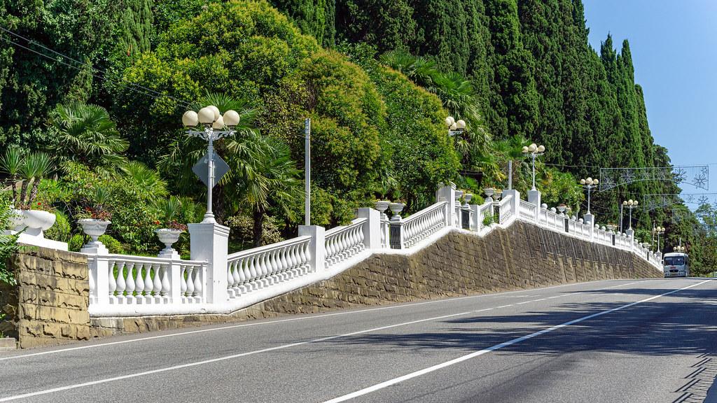 Сочи курортный проспект фото