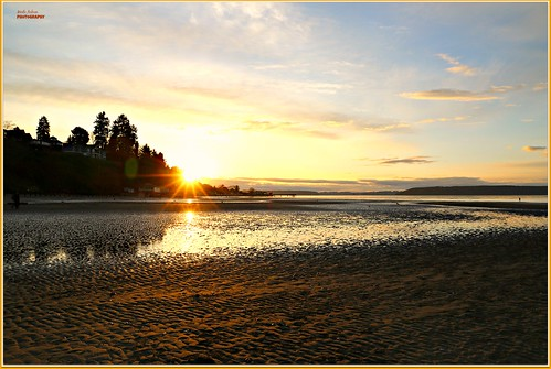 sunset sun beach dashpoint pugetsound nature water waterscene waterscape landscape canon picmonkey sand