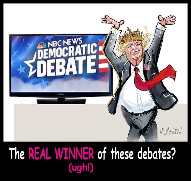 Ugh Trump the Debate Winner