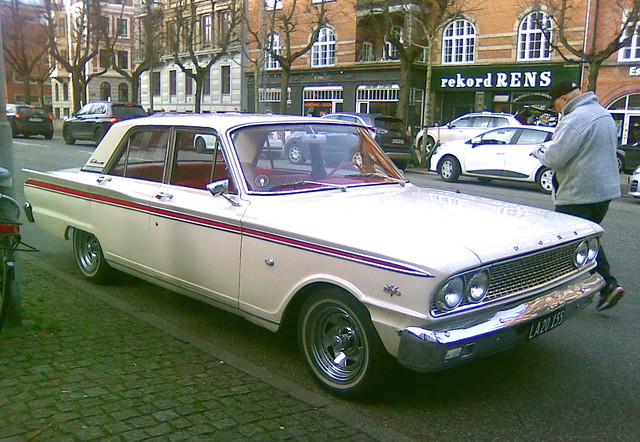 1963 Ford Fairlaine LA20155 has lived its whole life in Denmark and remains in superb condition