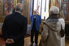 dt., 18/02/2020 - 17:59 - Barcelona18.02.2020 Medalla d'or Mèrit Esportiu a Kallipolis.   Foto: Laura Guerrero/Ajuntament de Bcn.