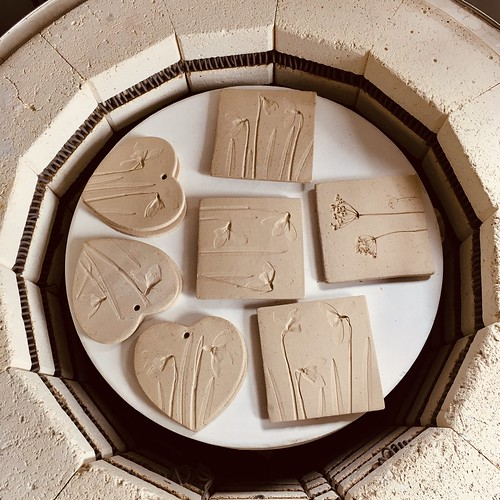 Bisque fired ceramics