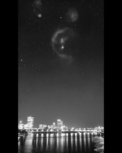 Orion over Boston