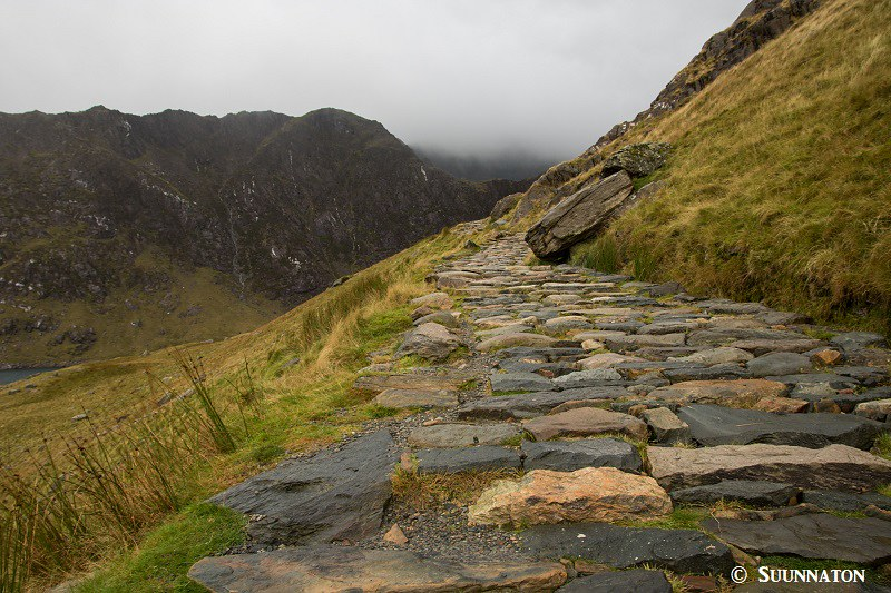 Snowdon, Miners Track, polku