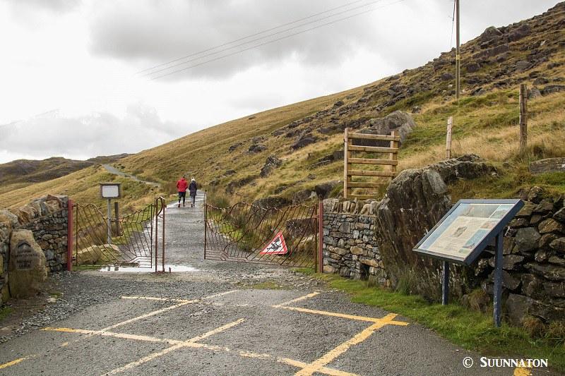 Snowdonian kansallispuisto, Miners' Track, Pen-y-Pass