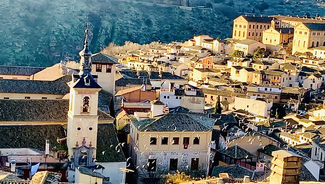 The old town of Toledo, Spain