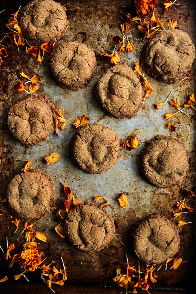 Chewy Chai Cookies (Vegan and Gluten-free) from heatherchristo.com)