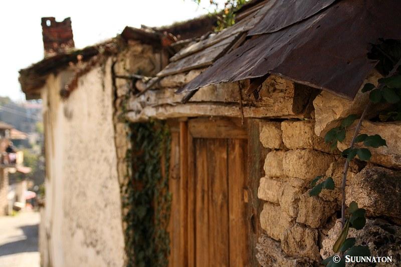 Ohrid, Makedonia, vanha rakennus