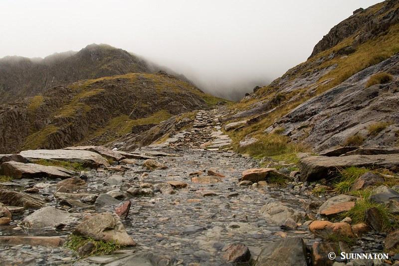 Snowdonian kansallispuisto, Snowdon, Miners' Track