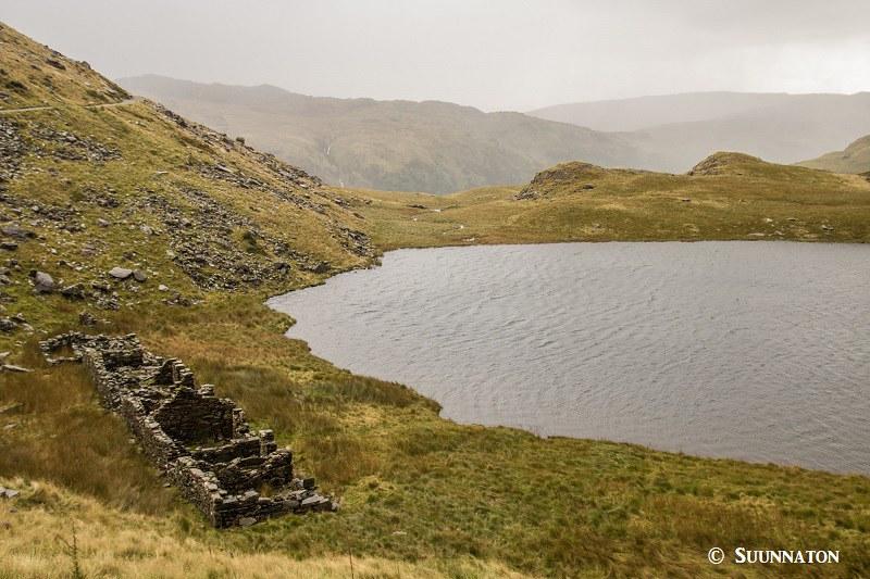Snowdonian kansallispuisto, jarvi ja rauniot