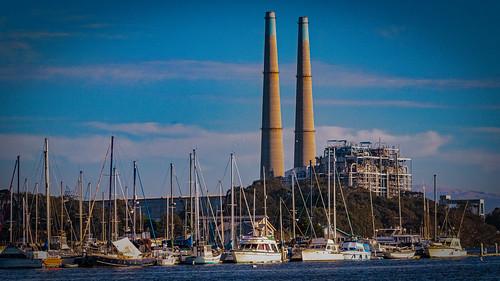 Moss Landing Harbor & Power Plant