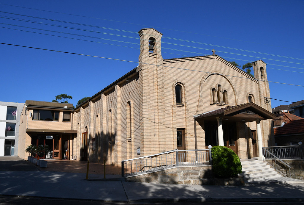 St Andrew Greek Orthodox Church, Gladesville, Sydney, NSW.