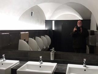 Toilet self portrait, Queen's House Greenwich