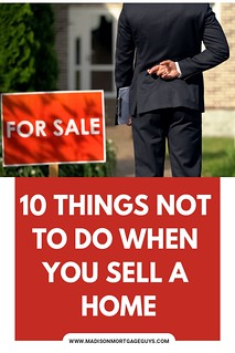 What Not To Do When Selling A Home