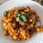 African Hominy and Beans
