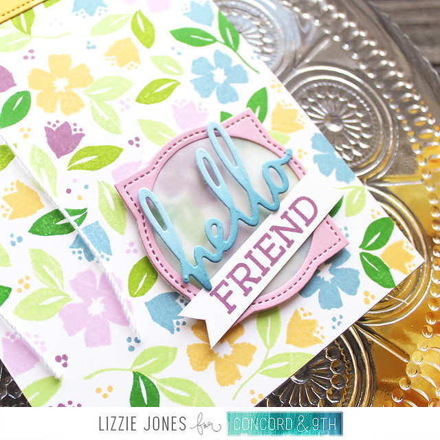 LizzieJones_Concord&9th_February2020_BloomsTurnabout_HelloFriendCard2