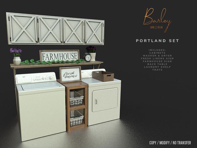 Barley – Portland Set @N21