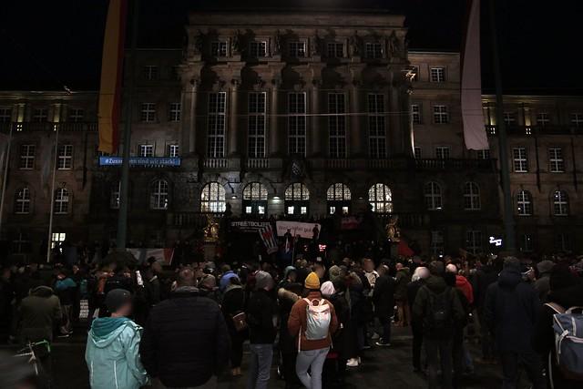 Mahnwache am 20.02. in Kassel nach Terroranschlag in Hanau