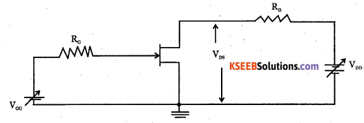 2nd PUC Electronics Question Bank Chapter 1 Field Effect Transistor (FET) 5