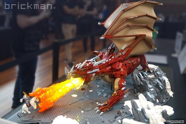 Huge LEGO® brick Dragon