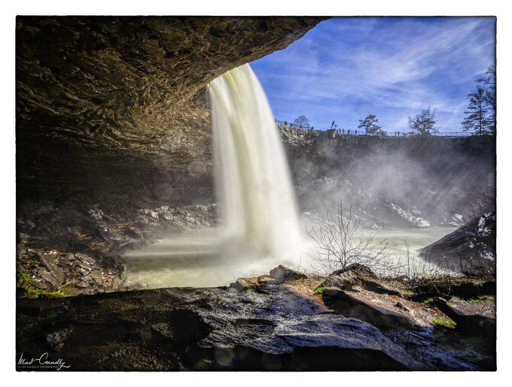 Below Noccalula Falls
