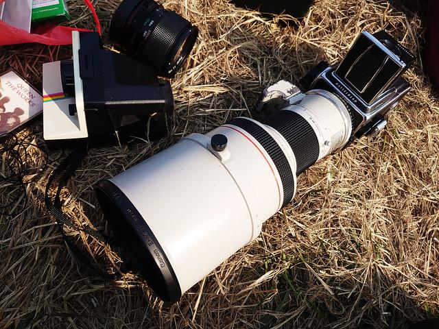 Canon FD 300mm f2.8 L中片幅巨炮