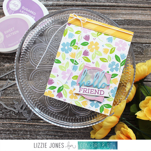 LizzieJones_Concord&9th_February2020_BloomsTurnabout_HelloFriendCard