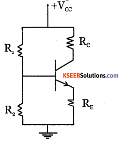 2nd PUC Electronics Question Bank Chapter 2 Transistor Biasing 7