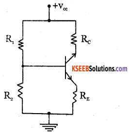 2nd PUC Electronics Question Bank Chapter 2 Transistor Biasing 3