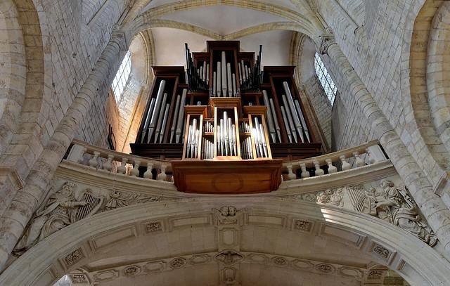 Saint-Benoît-sur-Loire (Loiret) - Abbaye de Fleury - Orgues (explore 21-02-20)