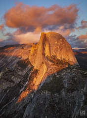 Half Dome - A View from Glacier Point